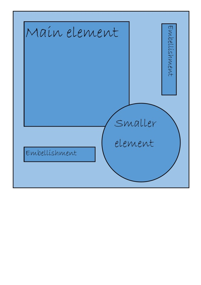 square card layout